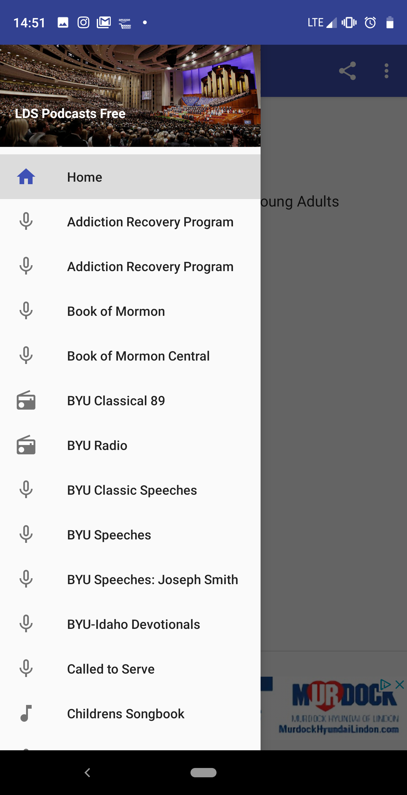 LDS Podcasts for Android | holyoak com
